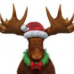 Weihnachts-Elch — Stockfoto