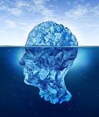Mänskliga hjärnan risker — Stockfoto