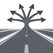Camino a la oportunidad — Foto de Stock