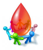 Blood Donation Community — Stock Photo