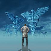 Desafio de cuidados de saúde — Foto Stock