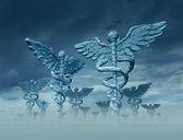 Paysage de la médecine — Photo
