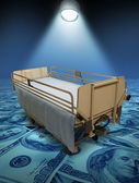 Hospital Care Costs — Stock Photo