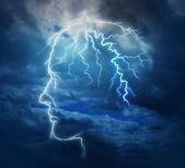 Inteligência poderosa — Foto Stock
