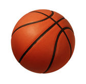 Basketball isoliert — Stockfoto