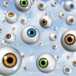 Vision and eye Ball Background — Stock Photo