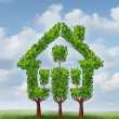 Stockfoto: House Tree