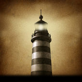 Lighthouse Grunge — Stock Photo