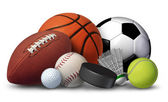 Sports Equipment — Foto de Stock
