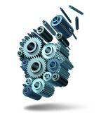 Verliezende intelligentie — Stockfoto