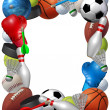 Stock Photo: Sports Frame