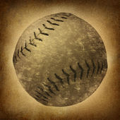 Old Grunge Baseball — Stock Photo