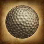 Golf Ball Grunge — Stock Photo