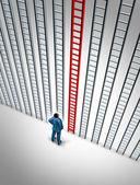 Opción de éxito empresarial — Foto de Stock