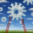 Cloud Management — Stock Photo #21959455