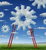 Cloud Management — Stock Photo