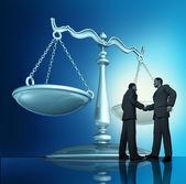 Contract overeenkomst — Stockfoto
