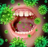 Enfermedad contagiosa — Foto de Stock