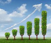 Crescente sucesso nos negócios — Foto Stock