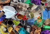 çöp geri dönüşüm — Stok fotoğraf