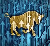 Bull Market — Stock Photo