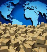 Global Shipping — Stock Photo