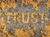 Losing Trust — Stock Photo