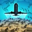 luchtvracht — Stockfoto