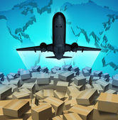 Air Cargo — Stock Photo