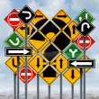 Direction Choices — Stock Photo