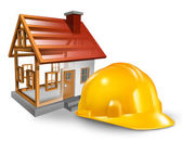 House Construction — Stock Photo
