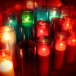 Spiritual Candles - Stock Photo