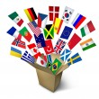 Global Shipping Services — Stock Photo #23652871