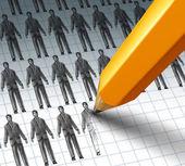 Hiring Employees — Stock Photo