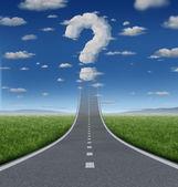 Preguntas de éxito — Foto de Stock
