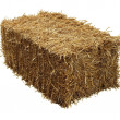 Bale Of Hay - Stock Photo