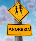 Anorexia Disease — Stock Photo