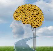 Brain Functioning — Stock Photo