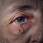Depressione senior — Foto Stock