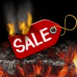 Hot Sale — Stock Photo