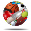 Stock Photo: Sports Ball