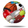 Sports Ball — Stock Photo