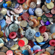 Group Of Old Buttons - Stock Photo