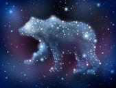 Prognozy rynku niedźwiedzia — Zdjęcie stockowe