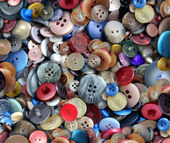 Group Of Old Buttons — Stock Photo