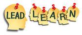 Leda och lära utbildning — Stockfoto