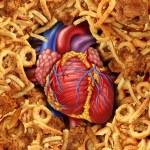 Heart Disease Food — Stock Photo
