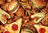 Fastfood — Stockfoto