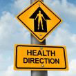 Health Direction — Stockfoto