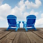 Retirement Relaxation — Stock Photo